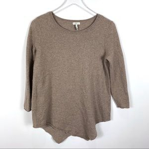 Joie Tambrel Asymmetrical tunic sweater wool